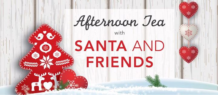 Afternoon Tea with Santa 14th December