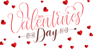 Valentine's Day Friday 14th February 2020