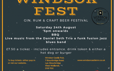WINDSORFEST 29TH AUGUST 2020
