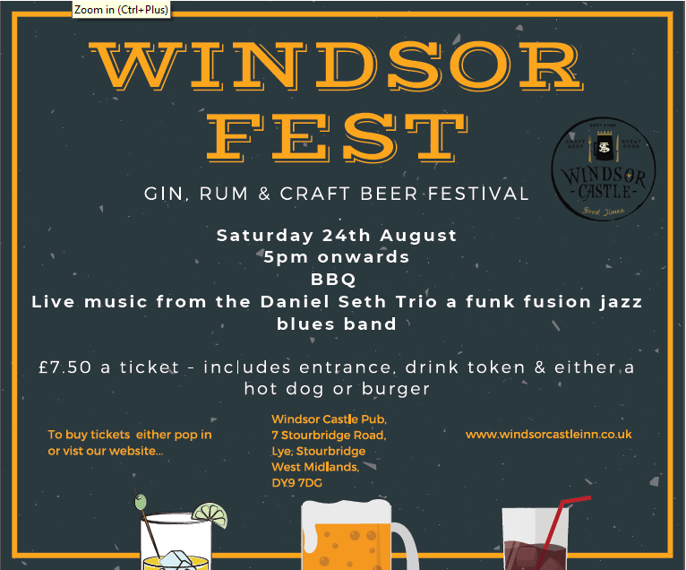 WINDSORFEST 24TH AUGUST 2019