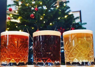 beer baton christmas