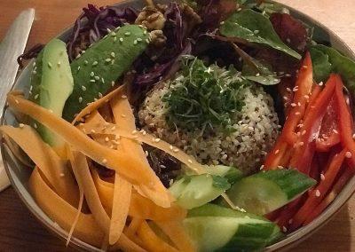 vegan buddah bowl