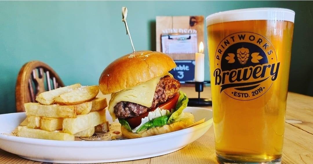 Gourmet Burger Night Returns – Monday 13th September!